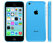 iphone 5c blauw