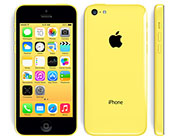 iPhone 5c geel